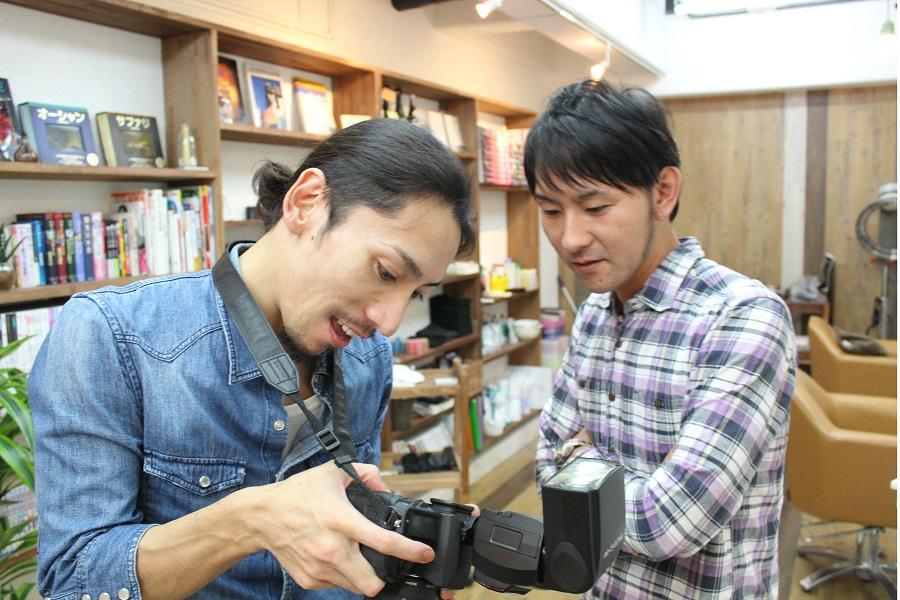 埼玉からの来訪者。