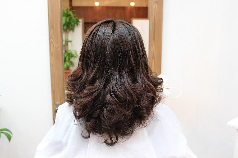 【RecRe hair】デジタルパーマ