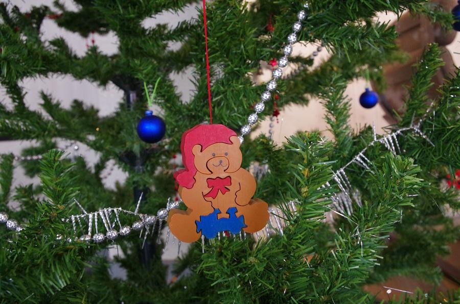 レクリヘアーにクリスマスツリーが♪