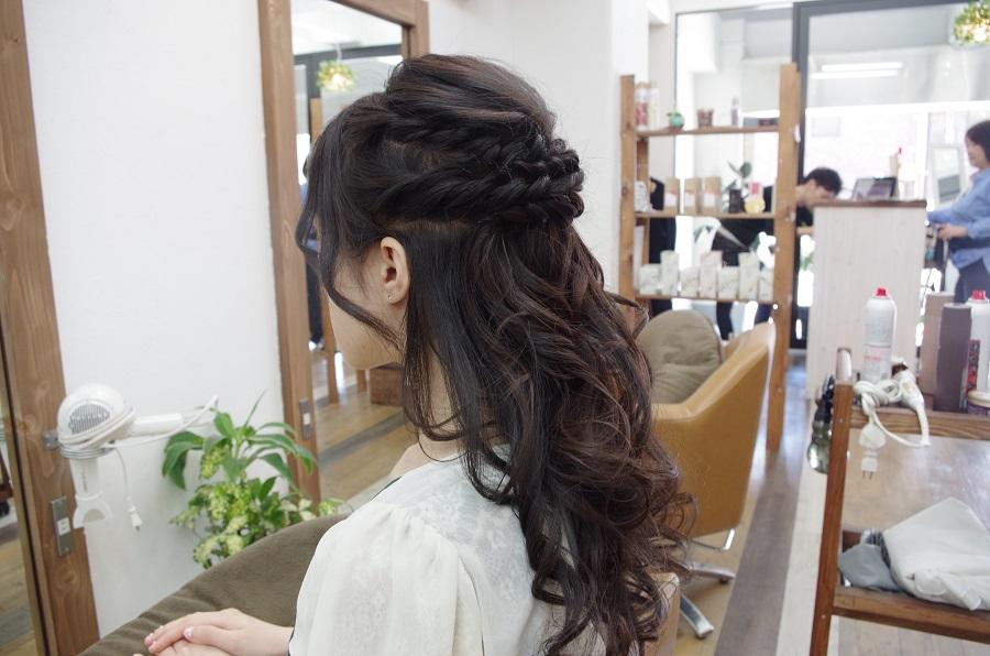 結婚式のセット&ポイントメイクのお客様☆