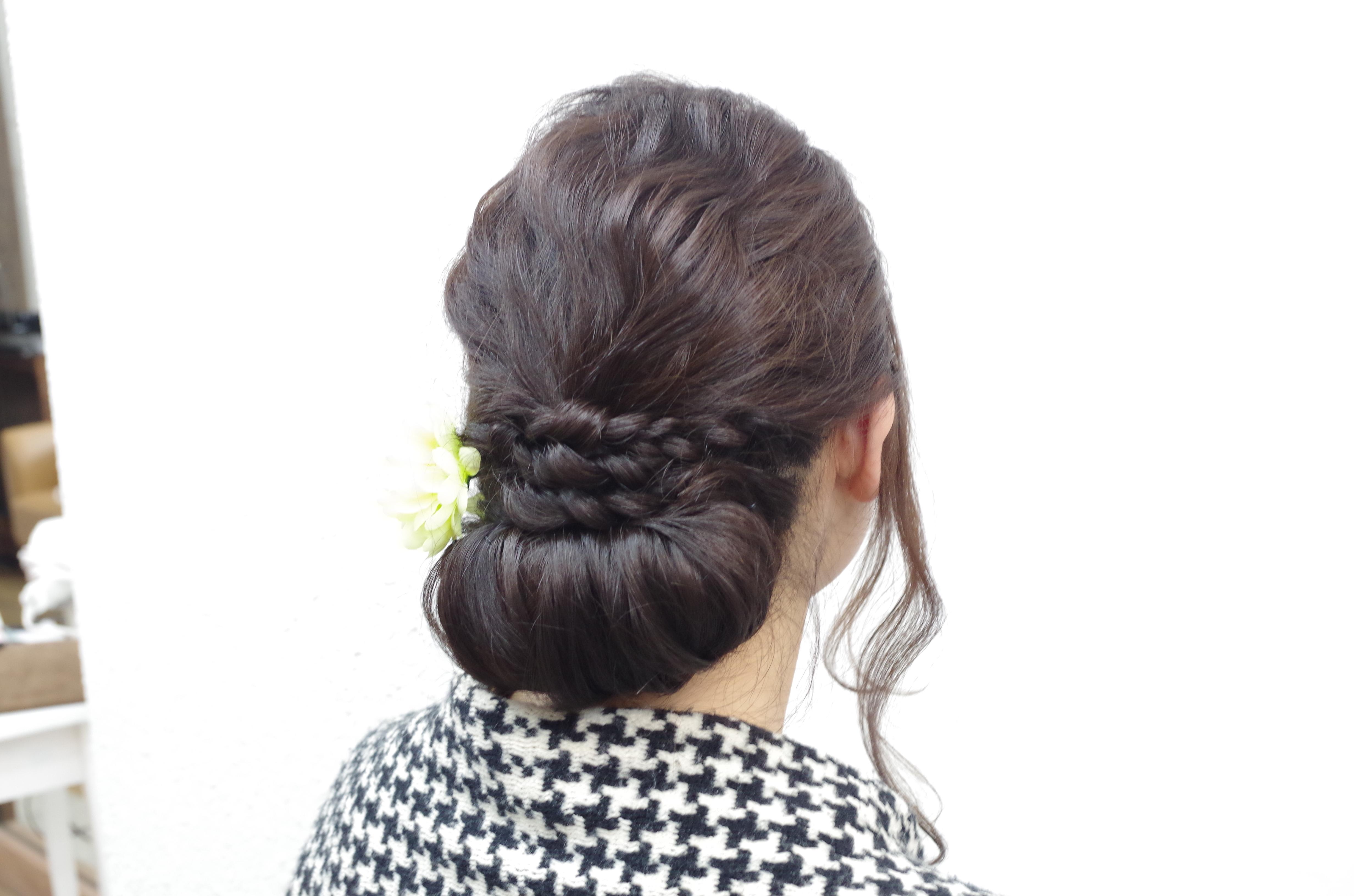 冠婚葬祭のオススメ髪型。