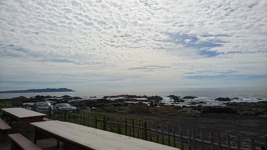 お休みの日に海に行ってきました。