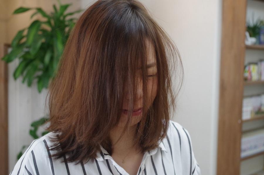 前髪が中途半端な長さの方は・・・