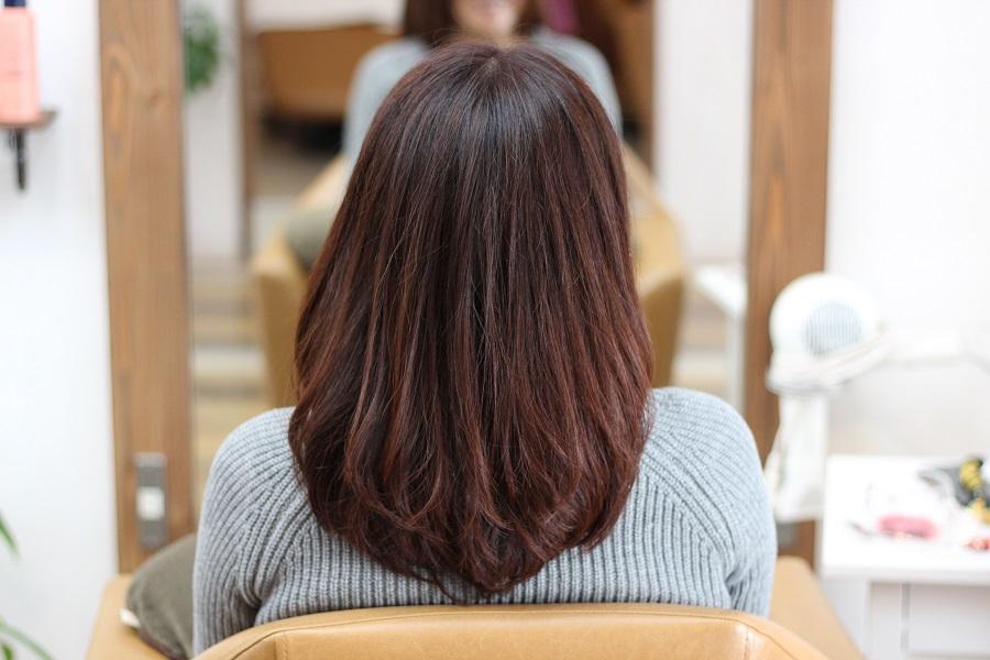 デジタルパーマで髪を伸ばす