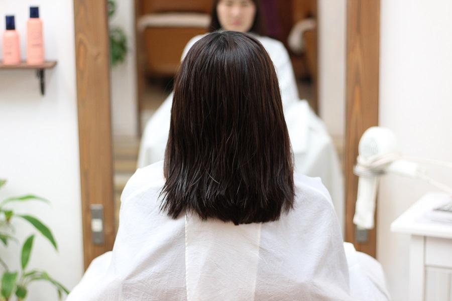 硬毛、ハネ、伸ばしたい、デジタルパーマ
