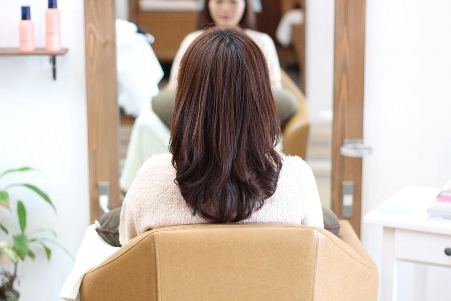 デジタルパーマで髪をキレイに見せる
