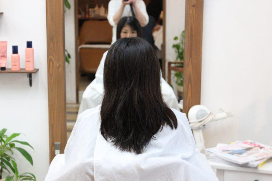 髪が硬い、多くて広がるのをどうにかしたい
