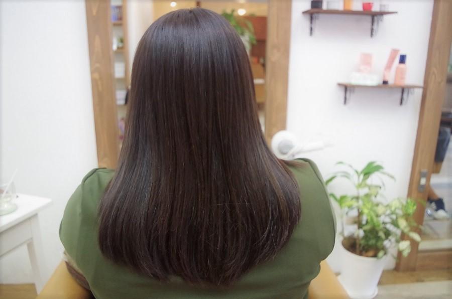 髪をトーンダウンする方におすすめ
