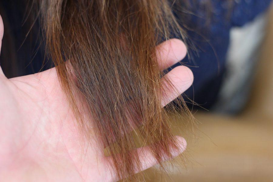 パーマが綺麗にかからない髪の状態