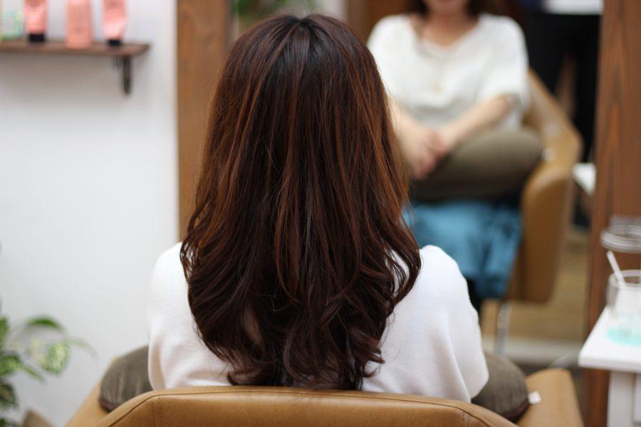 デジタルパーマで髪が綺麗になっていく