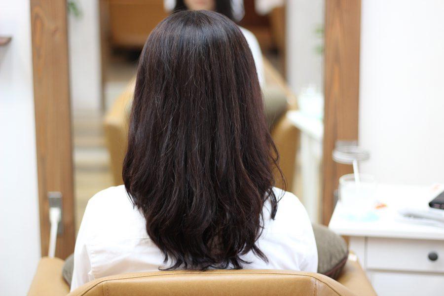 縮毛矯正からデジタルパーマに変えて髪が綺麗になってきた