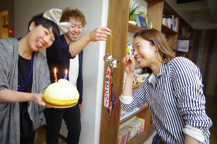 誕生日をお祝いしていただきました!!