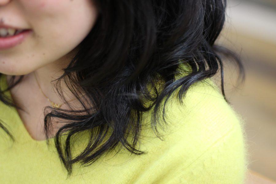 量が多い収まりが悪い、髪がしっかりしていて柔らかさが出ない髪に