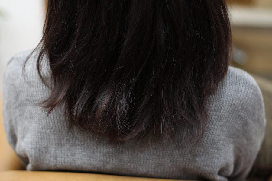 短い髪がツンツンしてまとまらない時はデジタルパーマ