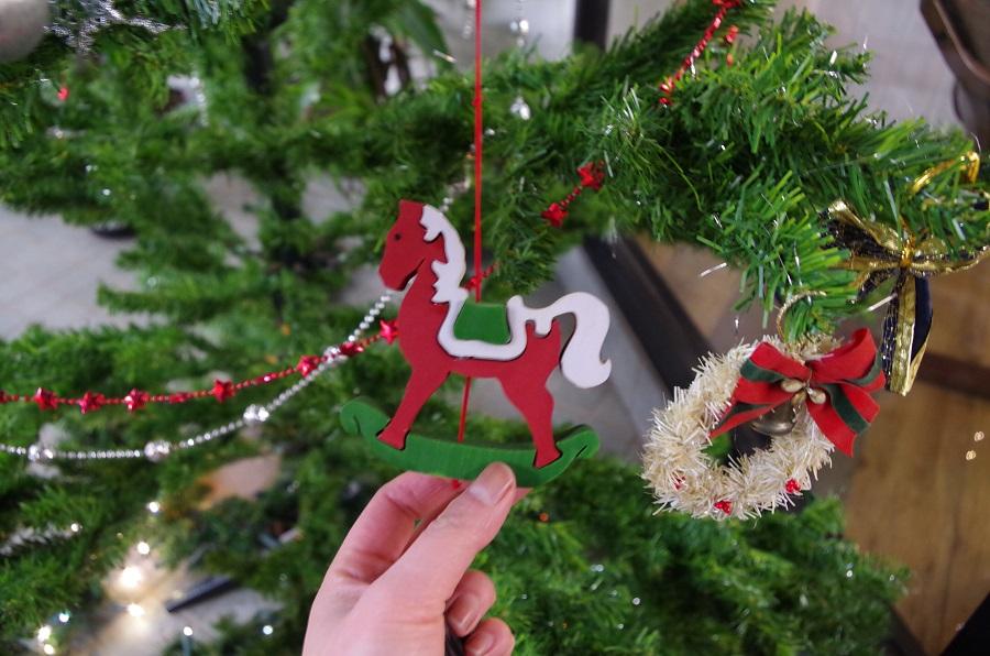 今年もクリスマスツリー出しました(*´▽`*)