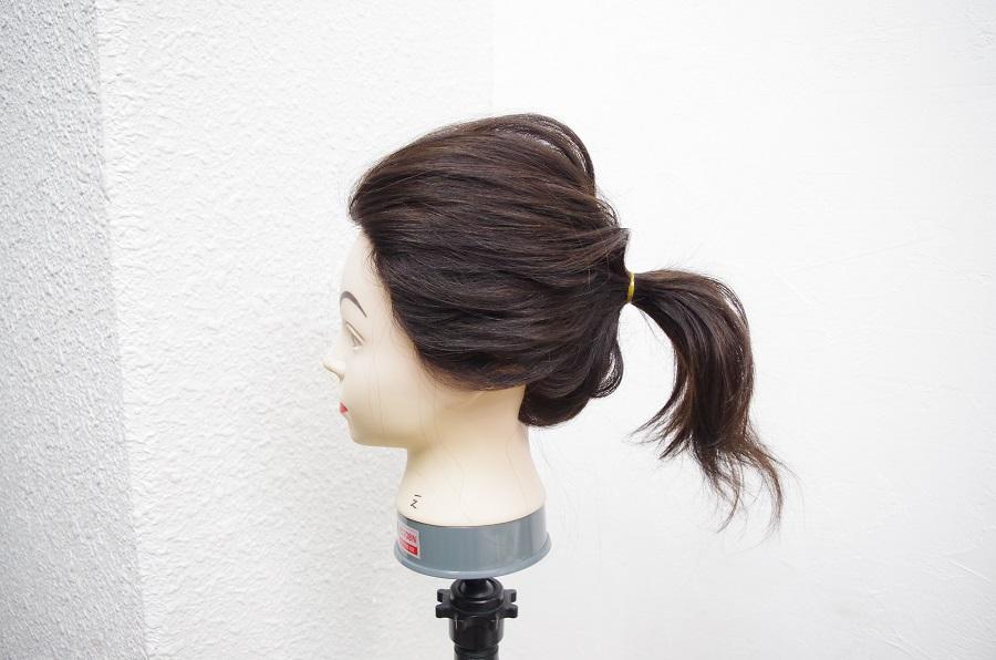 ポニーテールのきれいなバランス~髪を結ぶ高さ編~