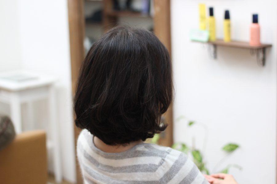 デジタルパーマは硬い髪でもしっかりキープ