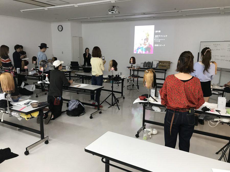 西田さんとカラー講習に行ってきました!