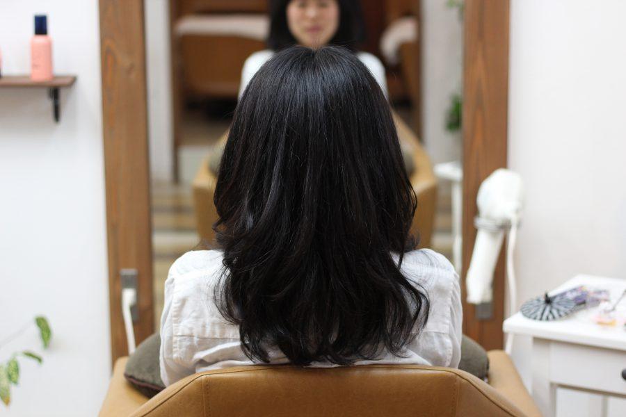 かかりにくい髪にはデジタルパーマで扱いやすく