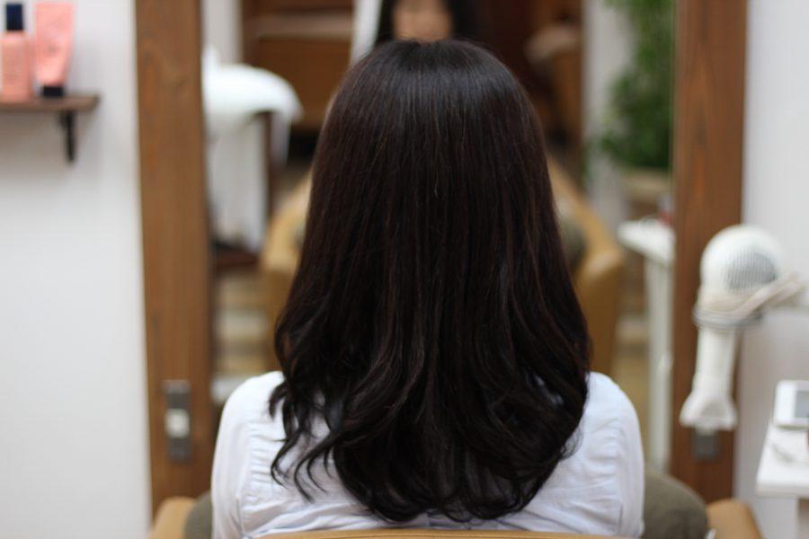 デジタルパーマをカラーを続けている髪の状態