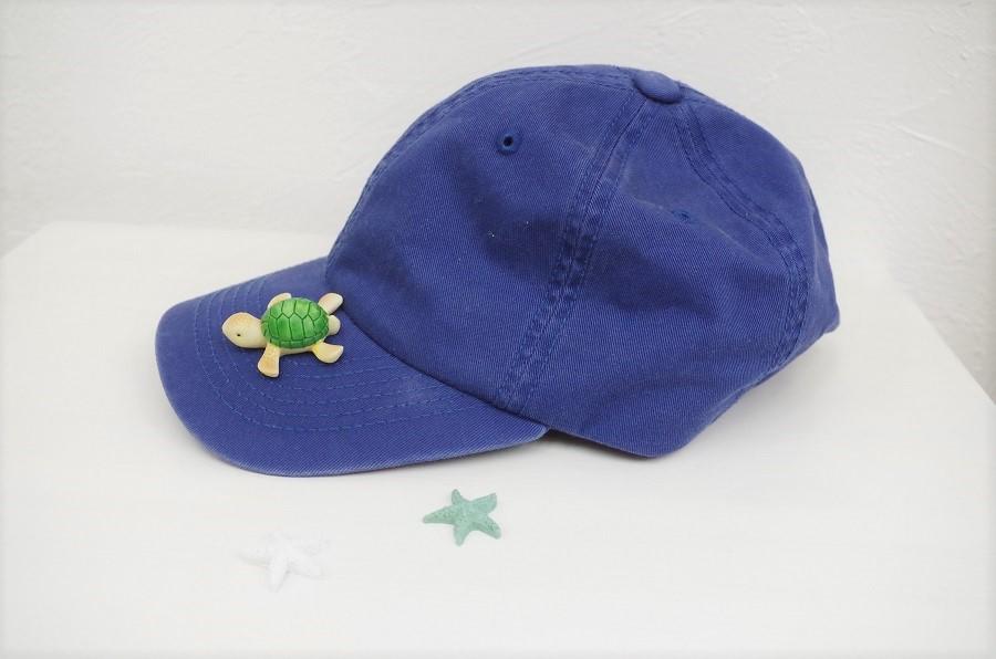 夏は帽子が必須アイテム。