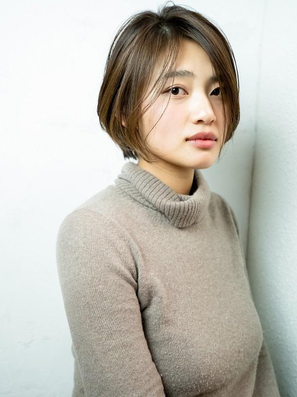 小顔カット/バレイヤージュ